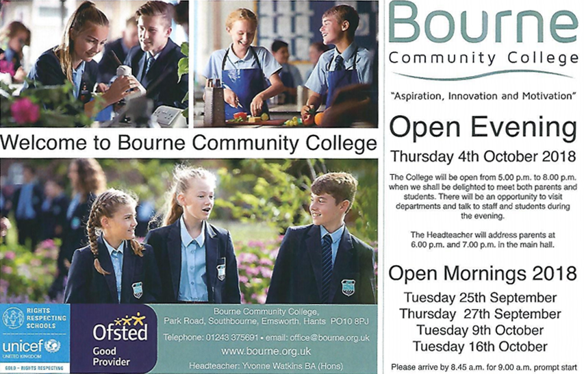 Open Morning - Tuesday 25th September